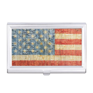 American Flag Pride Business Card Holder