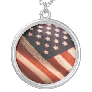 AMERICAN FLAG PRIDE NECKLACE