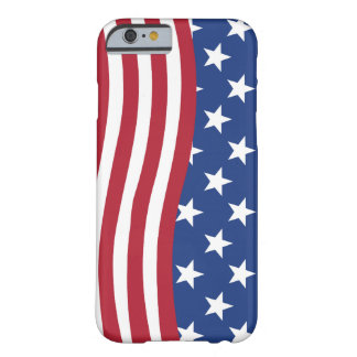 American flag print on iPhone 6 and 6s phone case