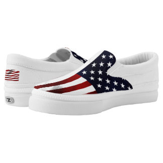 American Flag Printed Shoes