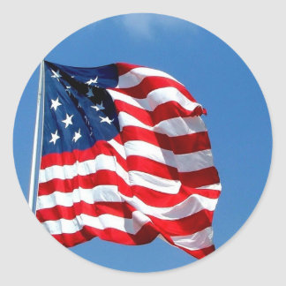 American Flag products Round Sticker