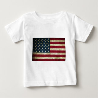 American Flag Red White And Blue Flag Baby T-Shirt
