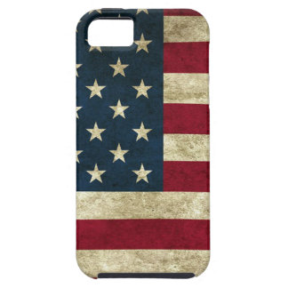 American Flag Red White And Blue Flag iPhone 5 Cover