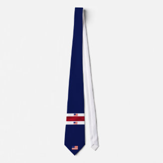 American Flag red white and blue Tie