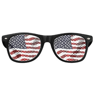 American Flag Retro Sunglasses