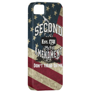 American Flag Second Amendment Don't Tread on Me Barely There iPhone 5 Case