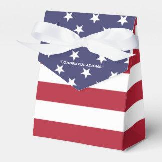 American Flag Secret Graduation Box Favour Box