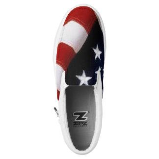 American Flag Shoes-slipon Slip On Shoes