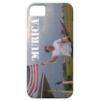 American Flag Shotgun Guy IPhone 5 Case