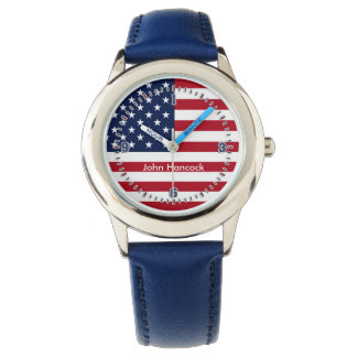 American Flag Signature Watch