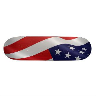 American flag skateboard