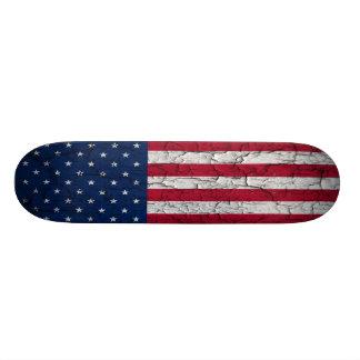 American flag skate board