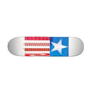 American Flag-Skateboard 21.3 Cm Mini Skateboard Deck