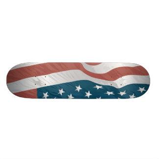 American Flag 21.6 Cm Skateboard Deck