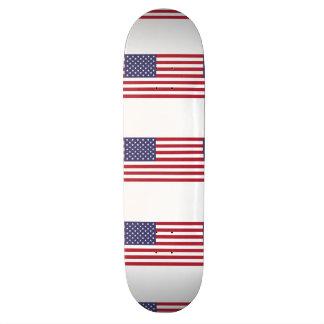 American Flag Custom Skateboard