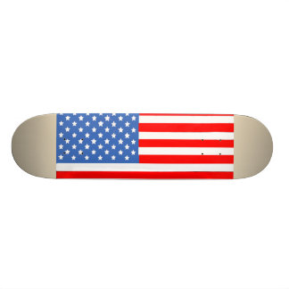 American Flag Skateboard Deck