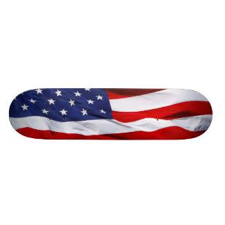 American Flag Skateboard Mini