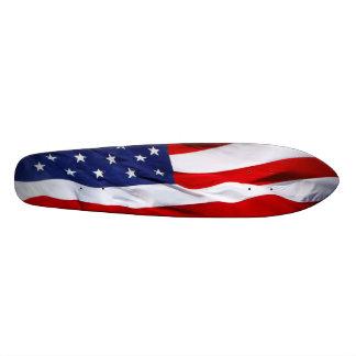American Flag Skateboard Oldschool