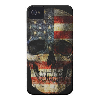 American flag skull iPhone 4 Case-Mate cases