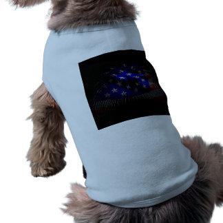 American Flag Sleeveless Dog Shirt