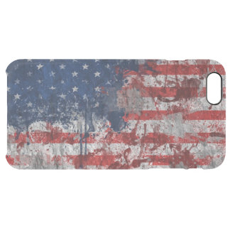 American flag spot clear iPhone 6 plus case