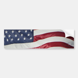 American Flag,Star Spangled Banner red white blue Bumper Sticker
