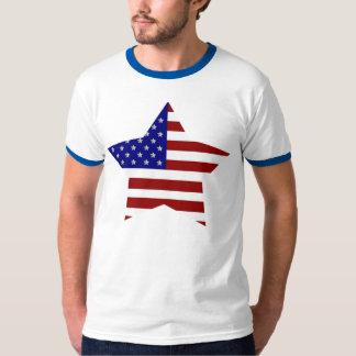 American Flag Star T-Shirt