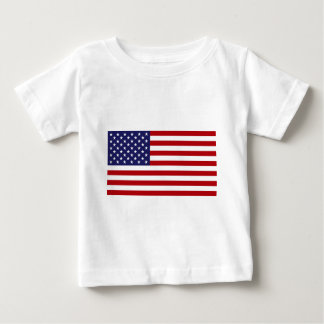 American Flag - Stars and Stripes - Old Glory Baby T-Shirt