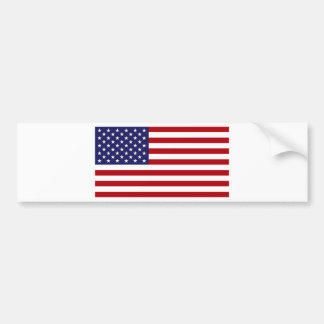 American Flag - Stars and Stripes - Old Glory Bumper Sticker
