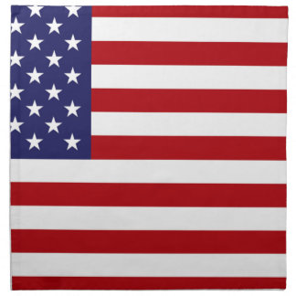 American Flag - Stars and Stripes - Old Glory Napkin