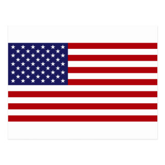American Flag - Stars and Stripes - Old Glory Postcard