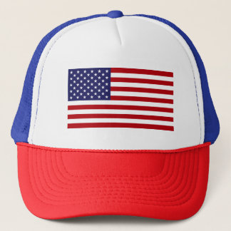 American Flag - Stars and Stripes - Old Glory Trucker Hat