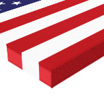 American Flag Stretched Canvas Prints