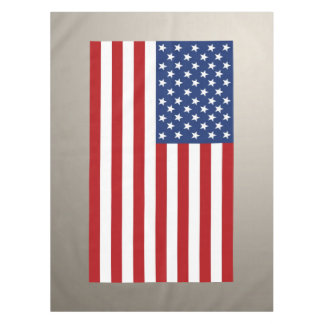American Flag. Tablecloth