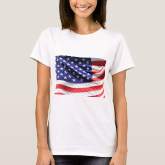 American-flag-Template T-Shirt