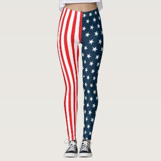 American Flag   The Stars And Stripes Leggings