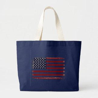 'American Flag' Theme Jumbo Tote