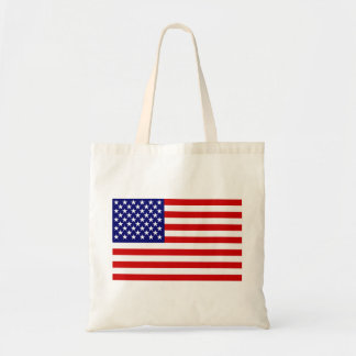 American flag canvas bags