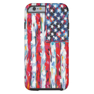 American Flag Tough iPhone 6 Case