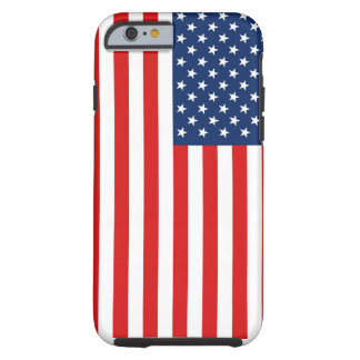 American Flag Tough iPhone Case
