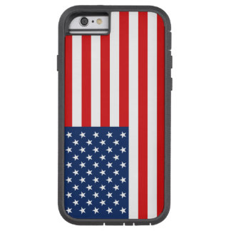 American Flag Tough Phone Case