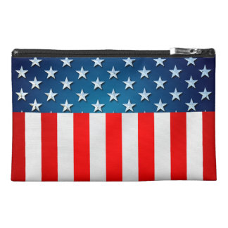 American Flag Travel Accessories Bag