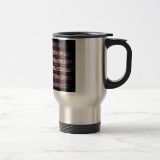 American flag. travel mug