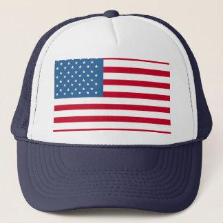 american-flag Trucker Trucker Hat