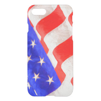 American Flag Uncommon iPhone 7 Clearly™ Deflector iPhone 8/7 Case