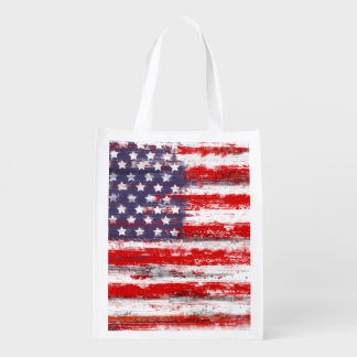 american flag,united states flag grocery bags