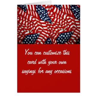 American Flag-Unity & Love_ Card
