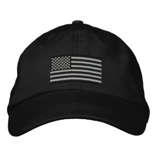 American Flag USA Large Embroidery Embroidered Hat
