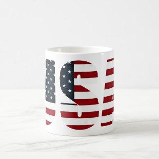american flag - usa mugs