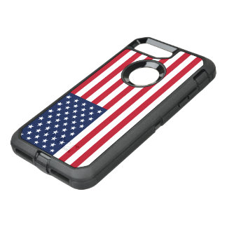 American Flag USA OtterBox Defender iPhone 7 Plus Case
